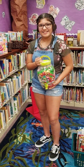 Seagraves Teen Guess Jar Winner