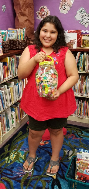 Seagraves Youth Guess Jar Winner