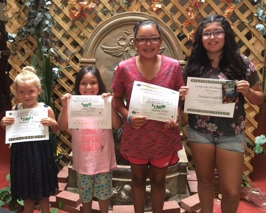 Seagraves Top Prize Winners